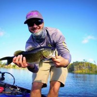 A big bass caught by the Univeristy of Central Florida Fishing Club at a Tournament.