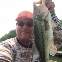Steve Millers Big Bass caught on a 4\